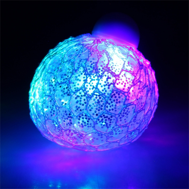 Business & Industrie Quetschball LED Flash Ball 6 cm Squeezeball Hüpfball Bunt Blinkend Knetball Spielzeug & Modellbau (Posten)