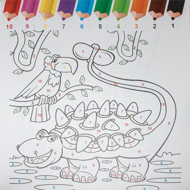 Malen Nach Zahlen Für Kinder Ab 6 Jahre