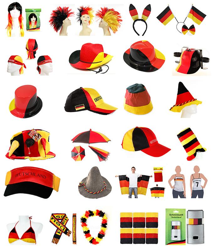 diverse fanartikel deutschland fu ball wm em kleidung h te