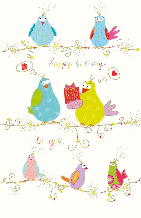 30 Grußkarten Grußkarte Glückwunschkarte Geburtstagskarten Geburtstag A 510-3585