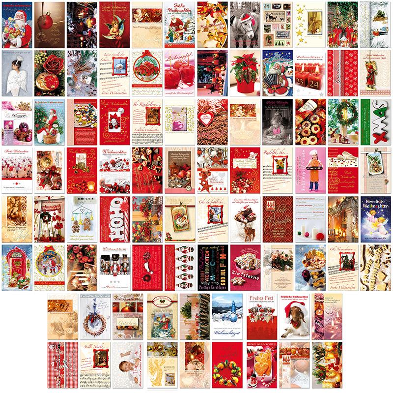 30 90 weihnachtskarten hochwertige premium gru karten. Black Bedroom Furniture Sets. Home Design Ideas