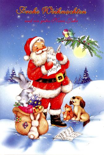 50 weihnachtskarten gru karten weihnachten klappkarten m. Black Bedroom Furniture Sets. Home Design Ideas
