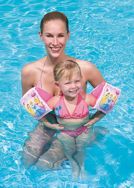 2 Paar Schwimmflügel Schwimmhilfe Schwimmärmel Disney´s Princess Badespaß Großhandel & Sonderposten Spielzeug