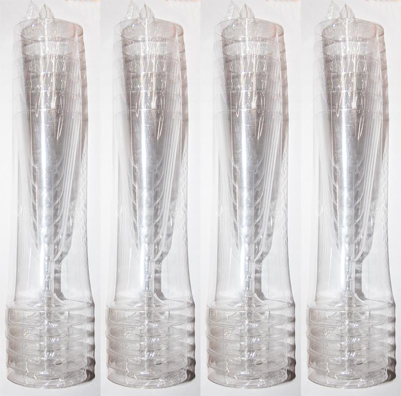 24 x sektgl ser sektglas klar 0 1l kunststoff trinkglas. Black Bedroom Furniture Sets. Home Design Ideas
