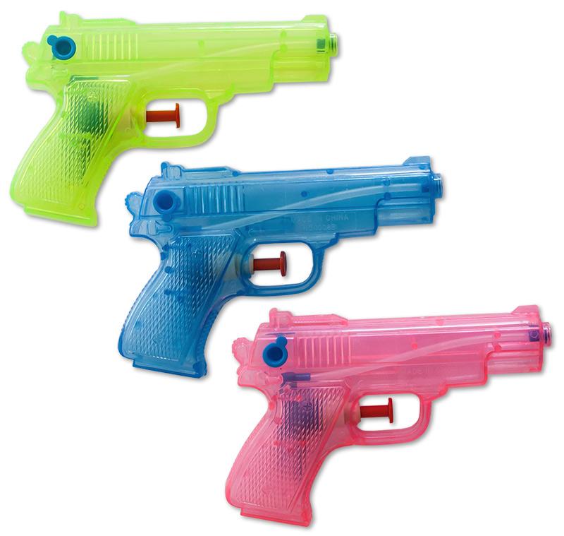 Spielzeug Spielzeug & Modellbau (Posten) Wasserpistolen Wasserpistole Klassiker 16 cm Spritzpistolen Wasserspritze